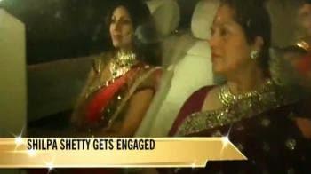 Shilpa gets engaged to Raj