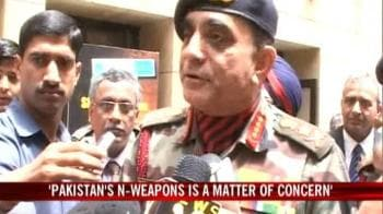 Video : Army concerned over Pak's rising N-arms