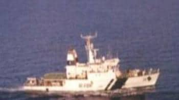 Video : Coast Guard ship in collision