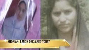 Video : Shopian: Bandh call after CBI report