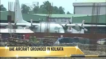 Video : UAE aircraft grounded in Kolkata for carrying ammunition