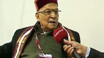 Video : Advising Jairam to stand firm on climate talks: MM Joshi