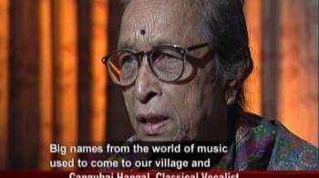 Video : Classical vocalist Gangubai Hangal dies