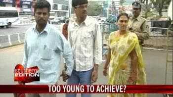 Video : Too young to achieve?