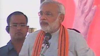 Video : In Ram's land, Modi invokes Ram Setu