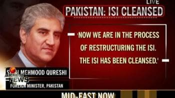 Video : ISI being restructured and cleansed: Pak
