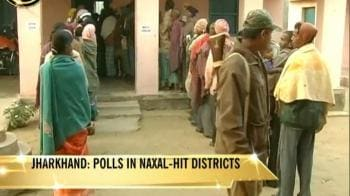 Video : Jharkhand: Tight security for final phase polls
