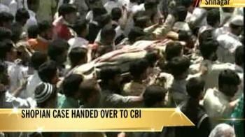 Video : Shopian case handed over to CBI