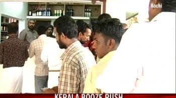 Video : Kerala's booze rush