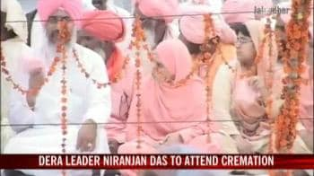 Video : Dera Sachkhand chief Ramanand's body brought home