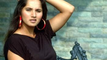 Video : Bride-to-be Sania Mirza collects Pak visa