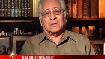 Video : NSA against Varun was wrong: Sorabjee