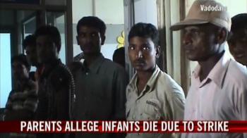 Video : Parents allege infants die due to doctors' strike