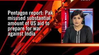 Video : Pak built army against India with aid: Pentagon