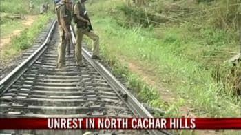 Video : Unrest in North Cachar hills