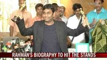 Video : Rahman's biography to hit the stands