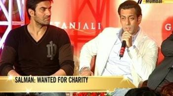 Video : Salman: Wanted for charity