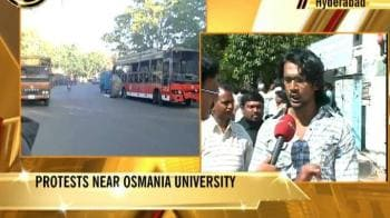 Video : Tension at Osmania University