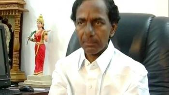 Video : KCR rejects states reorganisation commission