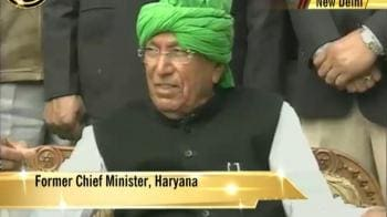 Video : Chautala on Ruchika case: Not my problem