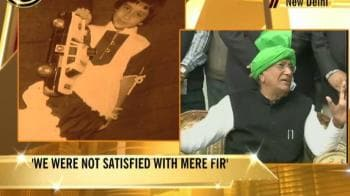 Video : Ruchika case: Chautala denies shielding Rathore