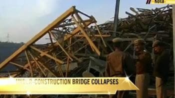 Video : Kota bridge collapse: 9 dead, 40 still missing,