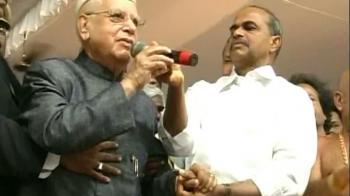 Video : Sleaze tape: N D Tiwari in the eye of storm