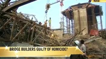 Video : Kota bridge collapse: 28 dead, 25 still trapped