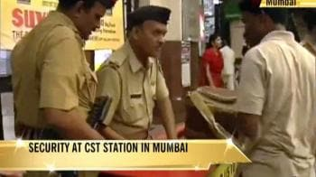Video : After Pune blast, increased security at CST station in Mumbai