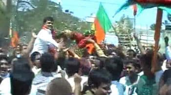 Video : Bangalore Municipal polls: BJP gets majority