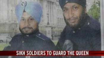 Video : Sikh soldiers to guard the Queen