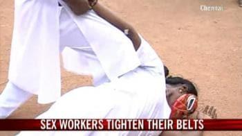 Video : Sex workers tighten their belts
