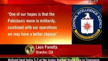Video : Osama still in Pakistan, says CIA