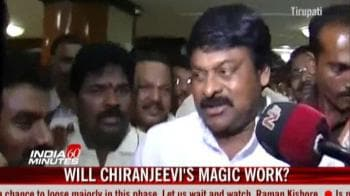 Video : Will Chiranjeevi's magic work?