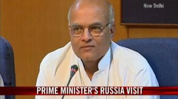 Video : Foreign Secretary on PM's Russia visit