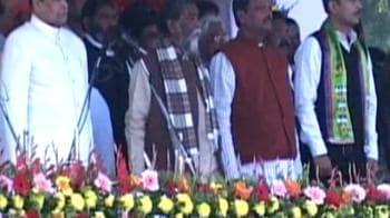 Video : Shibu Soren takes oath as Jharkhand's Chief Minister