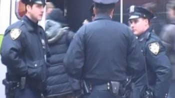 Video : Tight security in Times Square