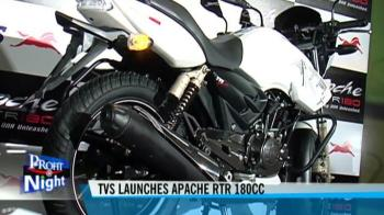 Video : TVS launches Apache RTR 180cc