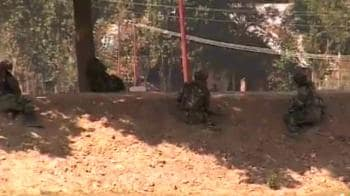 Video : Bandipore encounter: One militant killed