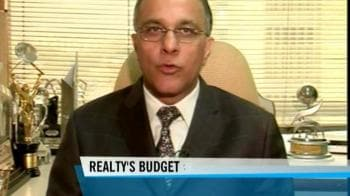 Video : Realty sector pins hope on Budget