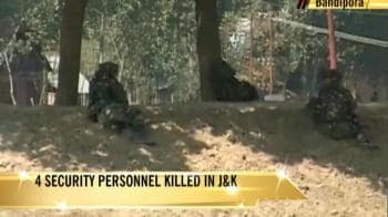 Video : J&K encounters: Major, 3 jawans killed