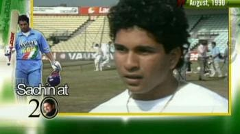 Video : Sachin's first interview to NDTV