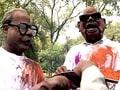 Video: प्रणब, ममता और करुणानिधि की होली!
