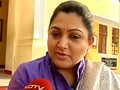Video : Khushboo, others on DMK defeat