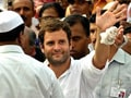Video : Mayawati govt has failed its farmers, says Rahul Gandhi