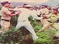 Video : Pune farmer deaths: Cops caught firing on camera suspended