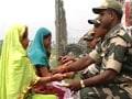 Video: Celebrating Rakhi at the border