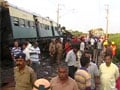Train collision near Chennai