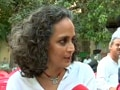 Video : Arundhati Roy slams Govt's Naxal policy