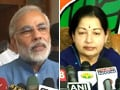 Video : Jayalalithaa supports Narendra Modi's fast, will send reps